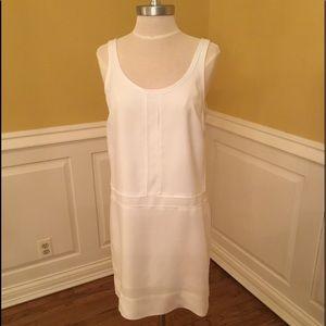 Banana Republic White Shift Dress